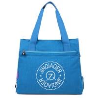 2017 Fashion Women Bag Handbags Waterproof Nylon Travel Shoulder Bags Causal Large Capacity Shopping Bag Female