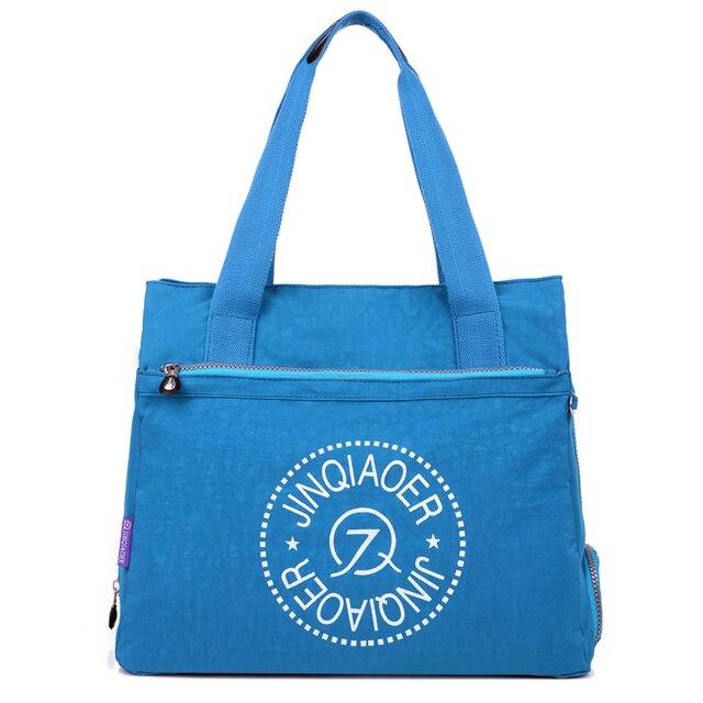 Мода 2017 г. Для женщин сумка Сумки Водонепроницаемый нейлон дорожные сумки повседневные Большой Ёмкость сумка-шоппер женский плечо Тото