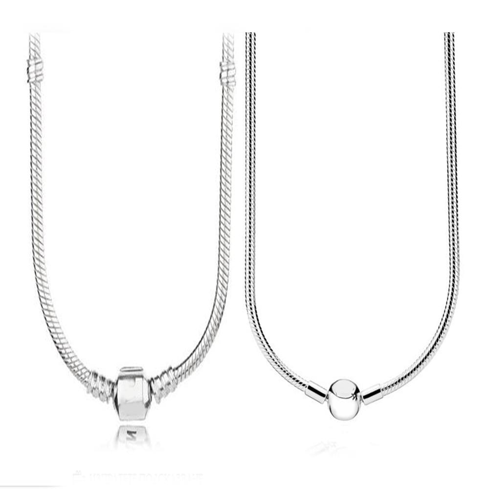 Médaillon d'éblouissement collier 100% véritable 925 argent Sterling médaillon d'éblouissement collier pour femmes bijoux cadeau