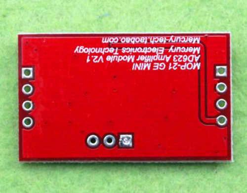 Gratis Verzending! Millivolt/microvolt versterker/signaalversterker AD623/AD620 instrumentatie versterker module