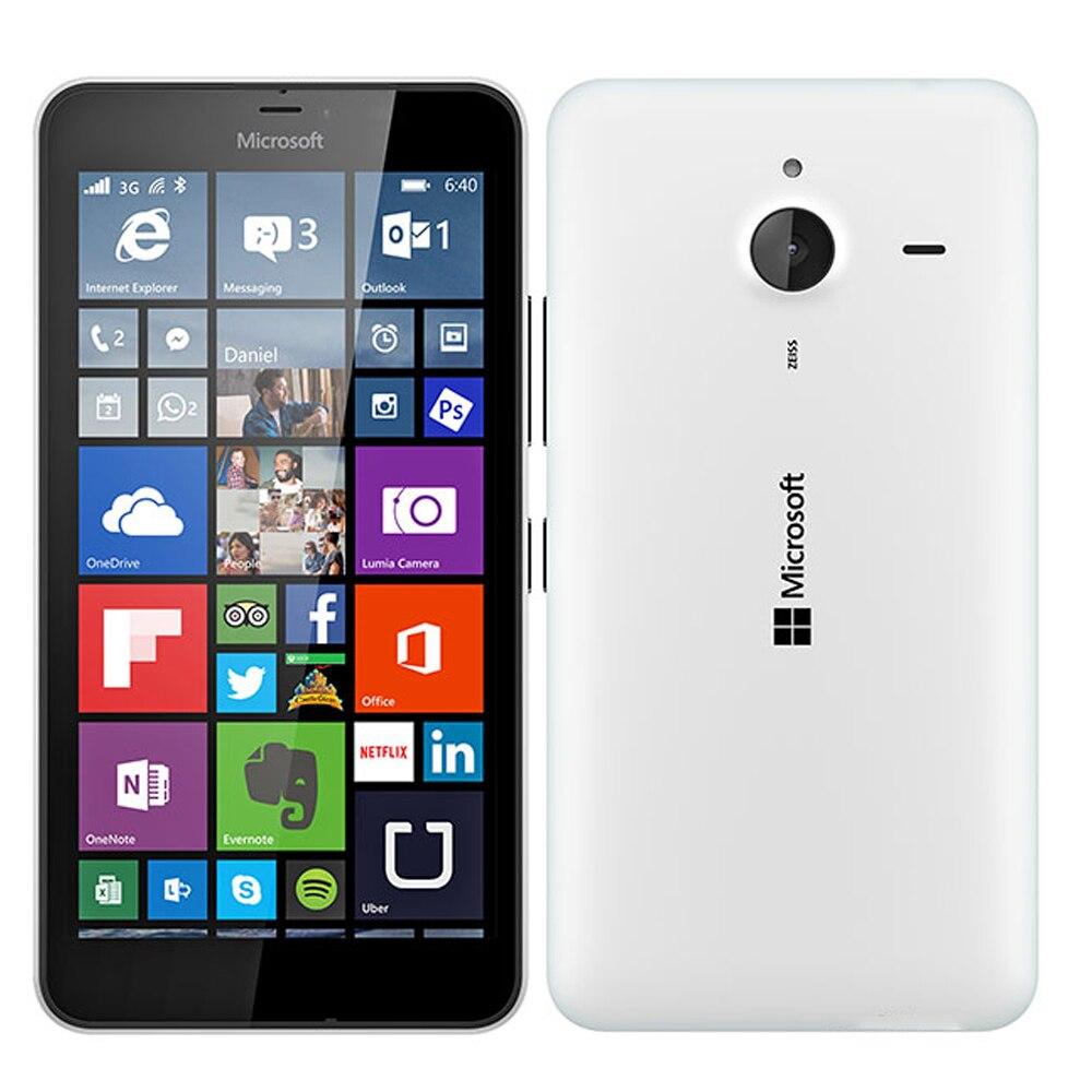 "Logical New Original Eu Version Microsoft Lumia 640 Xl 3g Mobile Phone Single Sim 5.7"" Snapdragon Quad Core 1gb Ram 8gb Rom Smartphone"