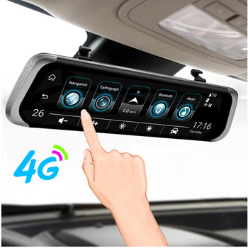 "ANSTAR 4G Android Rearview Mirror Car DVR 10"" HD 1080P GPS WIFI ADAS Dash Cam Dual Lens Recorder Auto Camera Registrar DVRs"