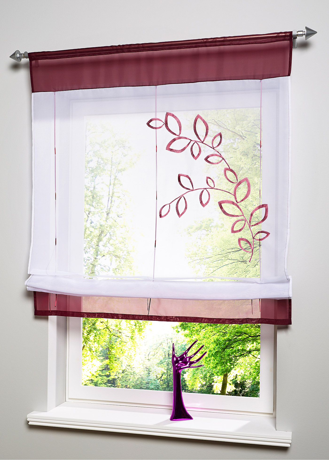 Hot Selling Newest Roman Curtain Embroidered Curtain