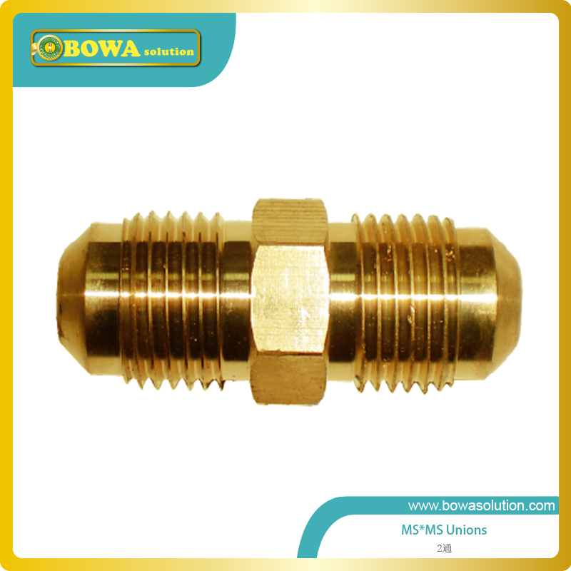 Brass Union 1/2 for copper tube connecting for connection copper tube new bullet head bobbin holder with ceramic tube tip protecting lines brass copper material
