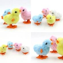 """Заводные игрушка """"цыпленок"""" Цветной цепь будет работать на Заводной кавайный цыпленок прыгающий Цыпленок, развивающая игрушка для детей"""