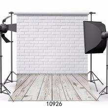 SJOLOON кирпичи стены и деревянный пол Виниловый фон для фотосъемки детей Фон цифровой печати фон для студии реквизит