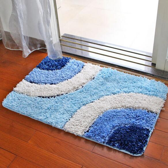 Nice Rug Modern Geometric Plush Carpet Area Rug Outdoor Floor Mats Bathroom  Antiskid Mats Living Room