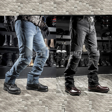Mens Skinny jeans men 2015 Runway Distressed slim elastic jeans denim Biker jeans hiphop pants Washed black jeans for men blue