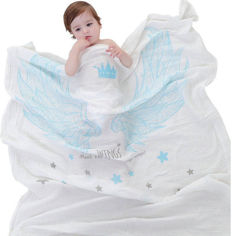 Square Baby Bath Towels Kids Cartoon Baby Towels Cotton Blanket Newborn Breathable Boy Girl Blanket Winter Soft Baby Towels Lot
