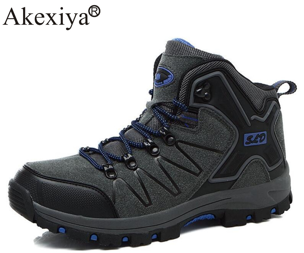 Akexiya High Cut Unisex Outdoor Hiking Boots Wearable Breathable Trekking Shoes Men Mountain Climbing Women Sneakers форма для открытого пирога flexi twist 28см 792834 page 3
