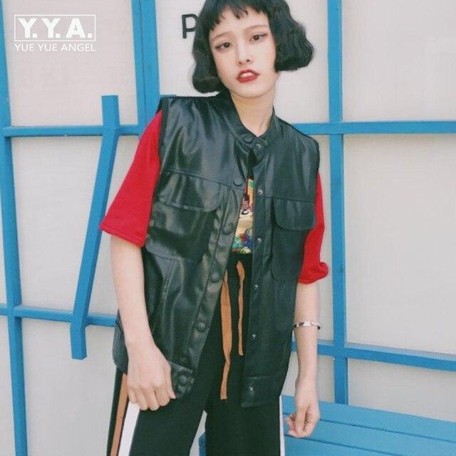 Veste simili cuir femme fashion