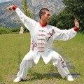 Usine HX12 белый китайский стиль цветок сливы TaiChi с длинным рукавом форма для кунгфу ушу форма тайцзи Taichi Одежда для взрослых детей