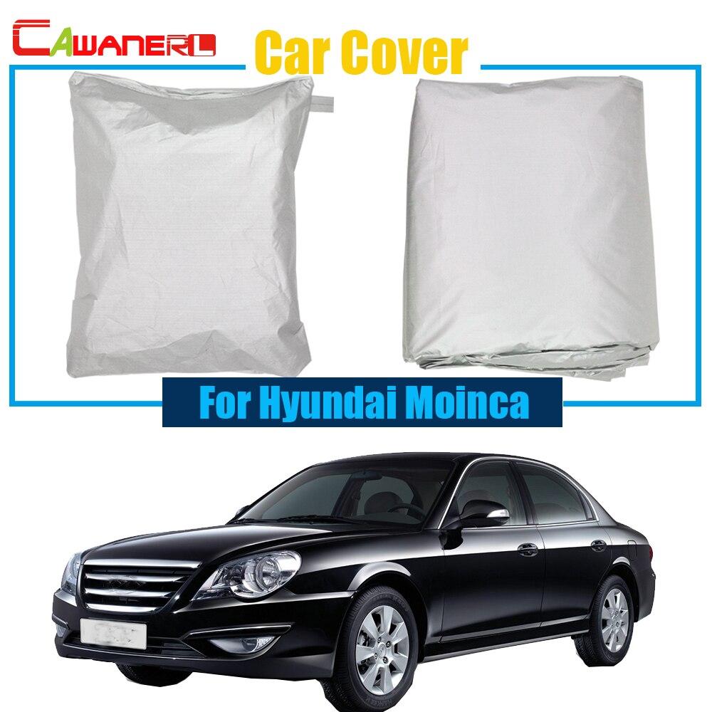 cawanerl cawanerl capa de carro chuva neve sol resistente protetor capa anti uv para hyundai moinca