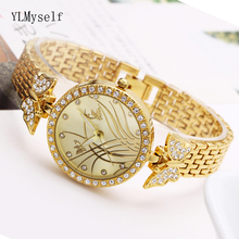 Pretty lovely watch fashion accessories for women top quality fast shipping quartz beautiful butterfly ladies