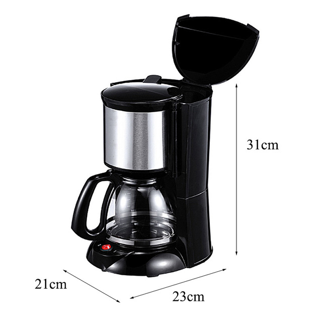 Warmtoo 2000ml Household Office American Style Drip Tea/Coffee Making Machine 12 Cups Coffee Maker 900W Temperature Control 4