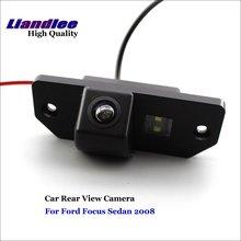 Liandlee Car Reverse Camera For Ford Focus Sedan 2008 Rear View Backup Parking Camera / CCD HD Integrated High Quality new high quality rear view backup camera parking assist camera for toyota 86790 42030 8679042030