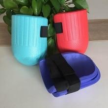1 пара мягких пенопластовых наколенников защита колена для спорта на открытом воздухе садовый защитник Подушка поддерживает Водонепроницаемый EVA пена