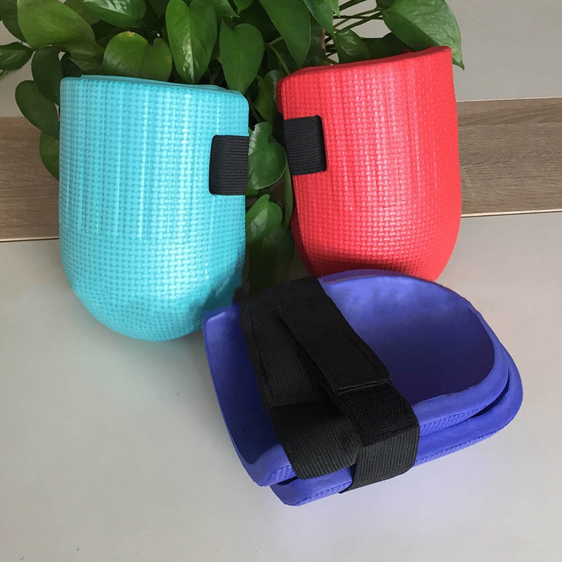 1 Pair Soft and Waterproof Gardening Knee made of Soft EVA Foam with Adjustable Straps for Outdoor Sport and Garden Work 5