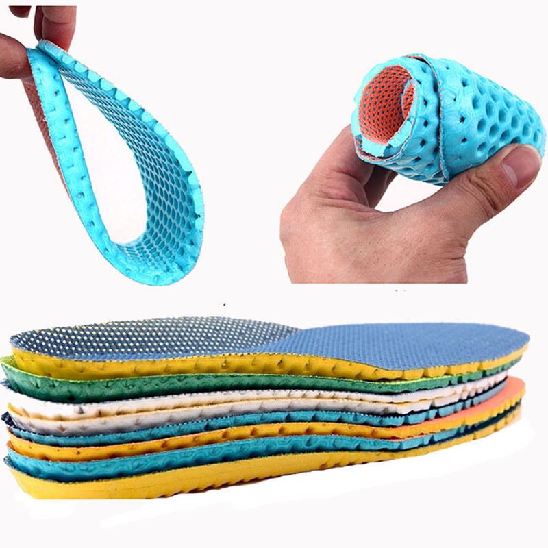 1 pair Stretch Breathable Shoe Soft Running Cushion Shock absorption Insoles New