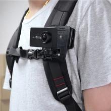 360 graus rotatable mochila clipe braçadeira titular montagem para gopro hero 8 7 6 5 4 sjcam yi4k eken dji ação acessórios da câmera conjunto