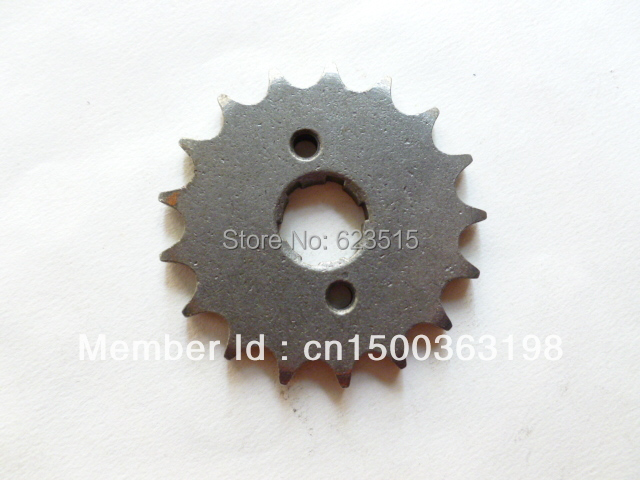 428 20mm 17 tooth Front Sprocket 17t  Pit GY Dirt Bike ATV QUAD 125cc 150cc 200cc,chinese motorcycle pit bike, GY motorbike 17T