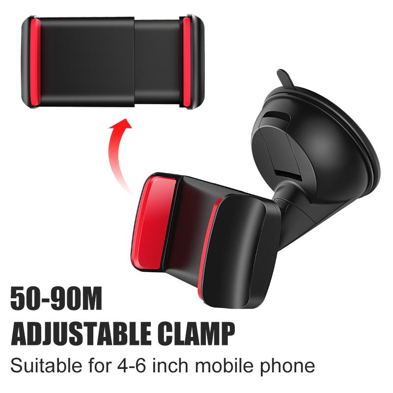 Artisome Car Phone Holder Universal Windshield Sucktion Mobile Phone Holder Stand 360 Degree Rotatable Car Mount Holder (9)