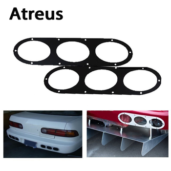 Atreus 2pcs Car Styling Bumper Deflector Air Diffuser Panel For Bmw E46 E60 E90 E36 F30 F10 x5 Lada Granta Vesta Mazda 3 6 cx-5 image