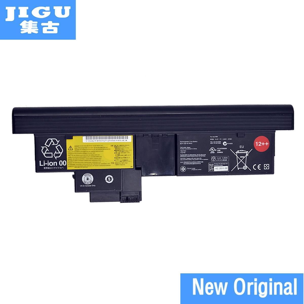 JIGU 43R9257 42T4565 42T4658 42T4827 Original laptop Battery For Lenovo for ThinkPad X200t x201t X200 Tablet 2266 7448 7450 jigu l09n8t22 l09n8y22 l09p8y22 lo9p8y22 original laptop battery for lenovo ideapad u460 14 4v 64wh