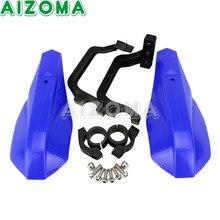 """Protetor de Mão Dirtbike Handguard Escudo Azul À Prova de Vento Guarda Fit 7/8 """"Guidão Para Yamaha YZF TTR Motocicleta Protetor de Mão"""