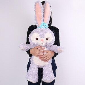 Плюшевые игрушки для детей, большие размеры, с героями мультфильмов, Stellalou, кролик, друг из Даффи, мишка, большие мягкие игрушки для детей, под...