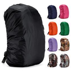 Mounchain 35/45L ajustable impermeable mochila resistente al polvo lluvia cubierta portátil ultraligero hombro proteger herramientas al aire libre senderismo