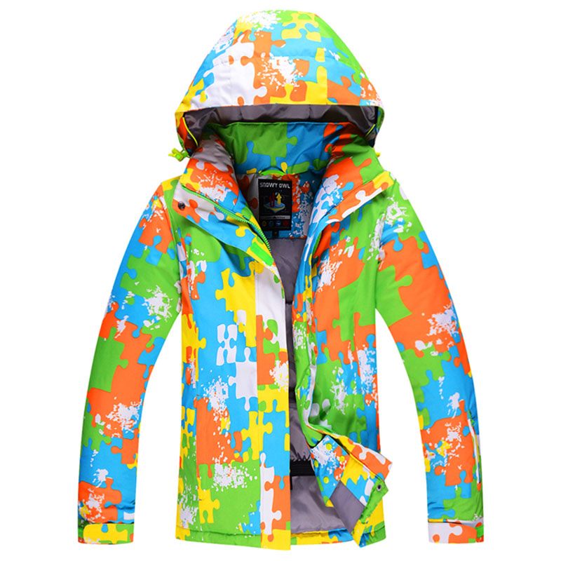 Prix pour Amant de Vêtements De Ski Imperméable Respirant Veste Camo Hiver Épais Chaud En Plein Air Ski de Sport Homme Ski Snowboard Vestes WJ1619