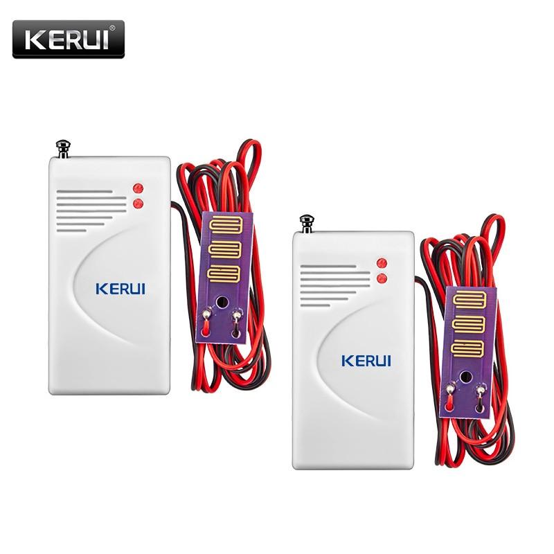 KERUI 433MHz Wireless Water Leakage Sensor Leak Detector For Home Security AlarmKERUI 433MHz Wireless Water Leakage Sensor Leak Detector For Home Security Alarm