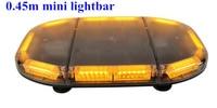 Higher star 45cm 60W Led car emergency lightbar,strobe warning light bar for police ambulance fire truck,waterproof