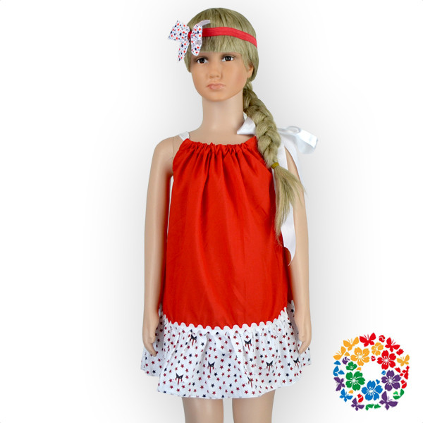 ee0e03a37b0d New Fashion Star Pattern Girl Western Party Wear Dress Children ...