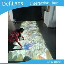 DefiLabs интерактивный пол/стена проекции программного обеспечения с 130 эффектами для детей играть в игры