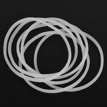 6 шт. Friut соковыжималка машина Замена прокладки резиновое уплотнительное кольцо для волшебной пули плоский/крест