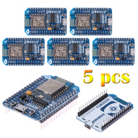 5Pcs Programmable Wireless Modules Network Applications NodeMcu Lua ESP8266 CH340 WIFI Internet Development Board Module