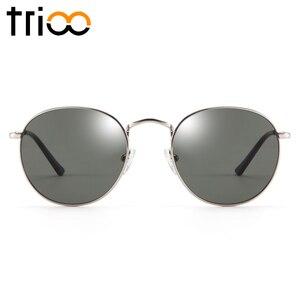 Image 3 - TRIOO  Nearsighted Driver Black Anti Glare Sunglasses Diopter Classic Myopia Glasses Women Retro Style Prescription Eye glasses