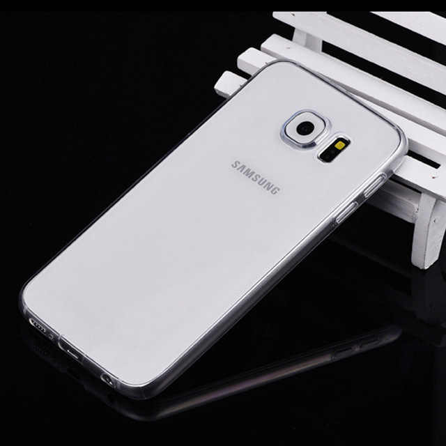 Case Voor Samsung Galaxy S3 S4 S5 Neo S6 S7 rand S8 Plus S 3 4 5 6 7 8 mini Duos Cover TPU Silicon Behuizing Behuizing
