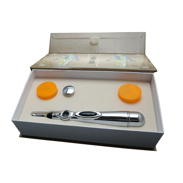 monitor Electric meridians Laser Acupuncture Magnet Therapy instrument Heal Massage Energy Pen massager Health care
