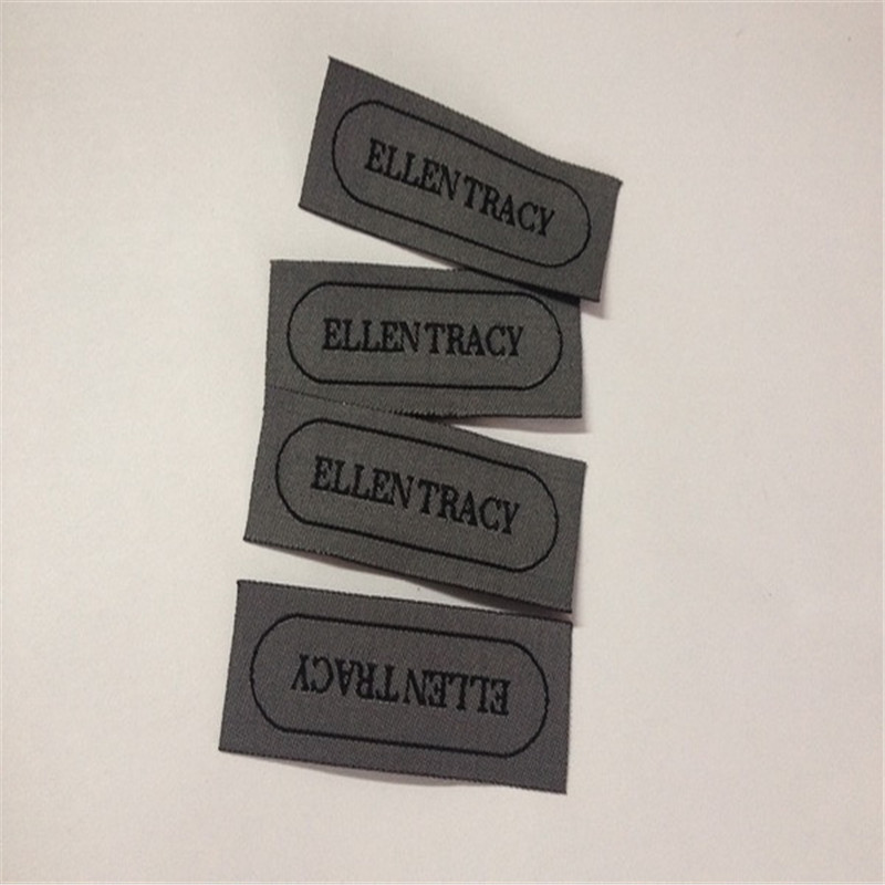 Customized Garment Woven Label Clothing Label in Garment Labels from Home Garden