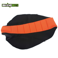 BIKINGBOY Seat Cushion Cover for KTM SX50 09 15 SX 65 02 15 SX 85 04 17 16 14 13 12 11 Ribbed Soft Motocross Gripper Replacement