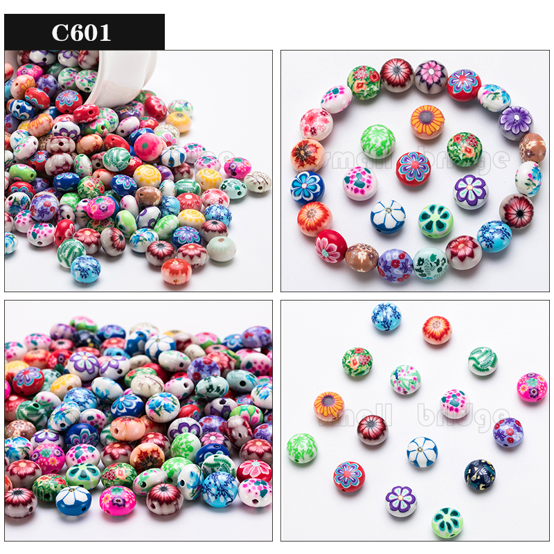 Polymer Clay Beads (1)