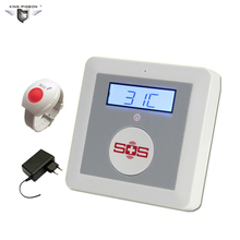 Gsm alarme sos chamada 850/900/1800/1900 mhz casa pessoal sistema de segurança de alarme grande botão sos para cuidados com idosos chamada de emergência sms k4a