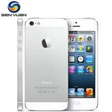 Kullanılan Orijinal Apple iPhone 5 Unlocked Cep Telefonu iOS Çift çekirdekli 4.0