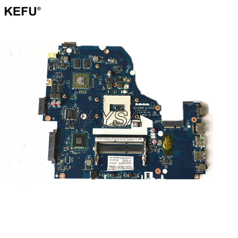 Z5WAW LA-B702P NBMV211001 Fit For Acer Aspire E5-572G Laptop Motherboard System Mainboard DDR3L S947 HM86 GeForce 940M works nbml811002 z5wah la b161p for acer aspire e5 571p e5 571 mainboard laptop motherboard i3 4030u ddr3l hd graphics
