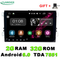 Android 6 0 Car DVD Player Radio Gps Stereo Multimedia PC 9 Inch 2G 16G In