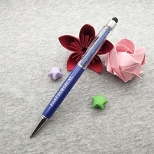 Stylus ballpoint Pens in 10 colors to custom engrave with your logo text free on pen body +free shipping+free design