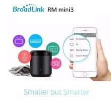 2017 BroadLink RM 3 Smart Mini WiFi Controle Remoto Inteligente Interruptor De Automação Residencial Inteligente WiFi + IR para Android & iOS